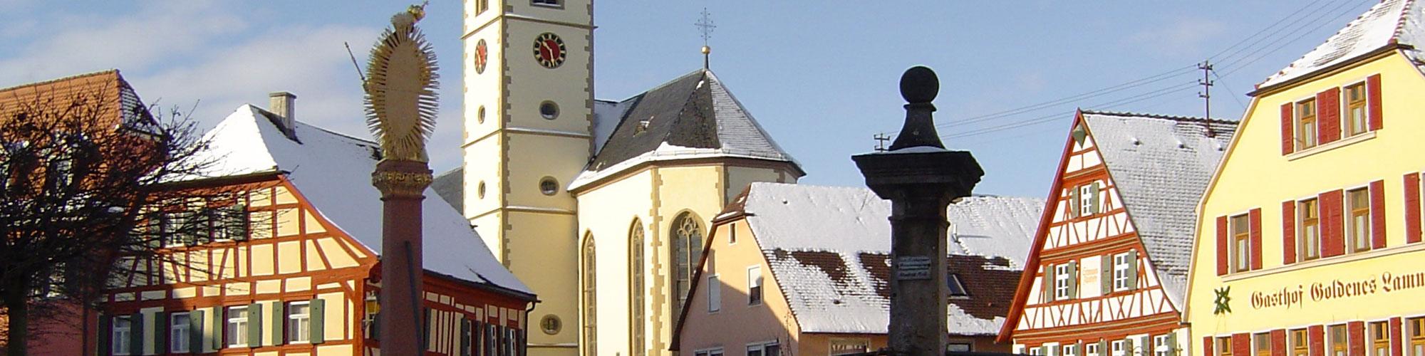 Stadtpfarrkirche Aub - Mariä Himmelfahrt