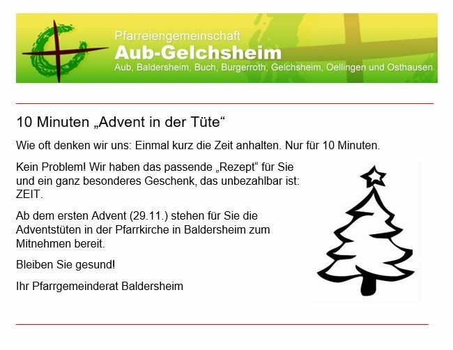 Advent für HP